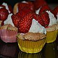Mini tartelettes fraises/ricotta vanillée