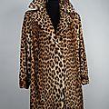 Manteaux en panthère, léopard et ocelot.
