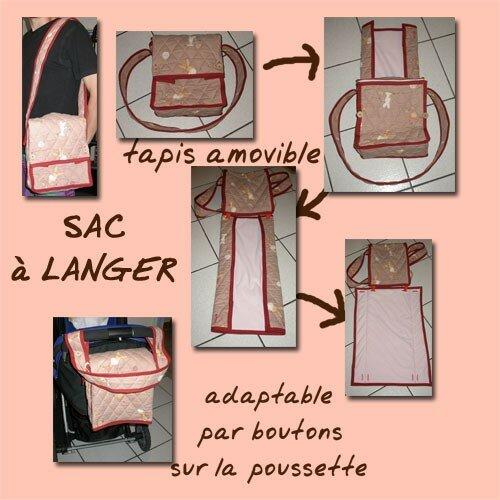 Un sac à langer pour Anouk