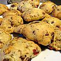 Cookies banane-chocolat-m&m's