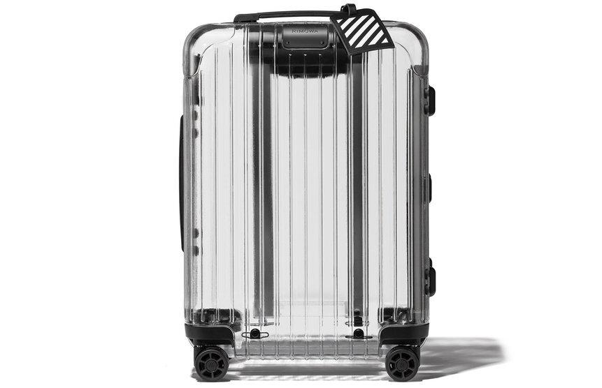 Le bagage transparent de Rimowa n'a rien à cacher...