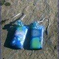 boucles plaque bleue