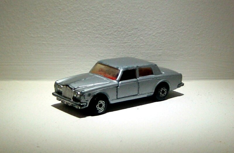 Rolls-Royce silver shadow II (1979)(Matchbox)