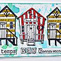 Des maisons de plage