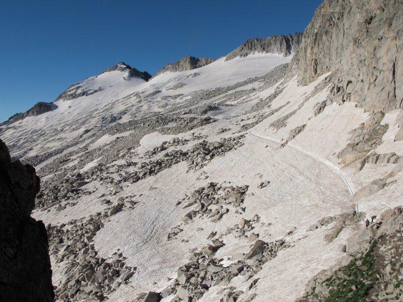 itinéraire pour le Pico de Aneto