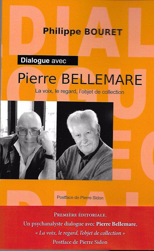 Couverture face Dialogue avec Pierre Bellemare avec bandeau