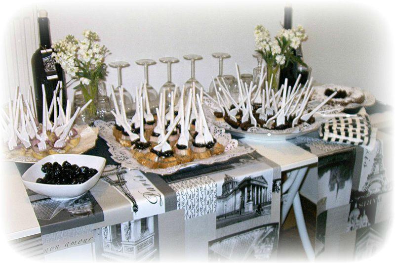 Buffet en noir et blanc - Atelier Studio Liza Athènes
