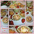 Muffins aux fraises... délicieux et facile à faire !