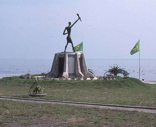 Monument aux Athlètes panafricains, Kinshasa