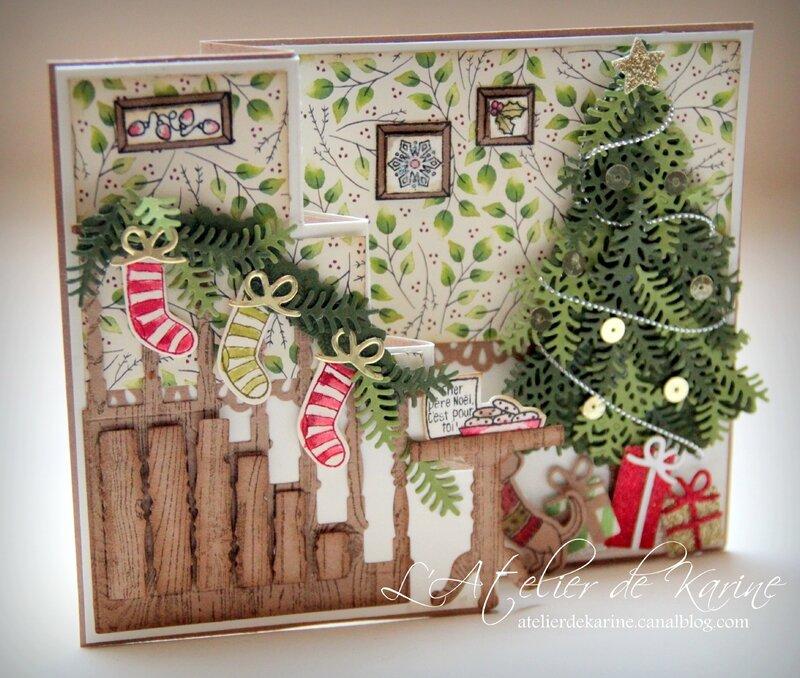 Carte Prêt pour Noël 6