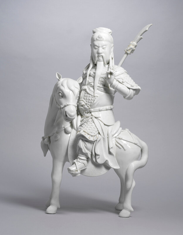 2020_HGK_18242_2845_000(a_dehua_figure_of_guandi_on_a_horse_late_qing_dynasty)