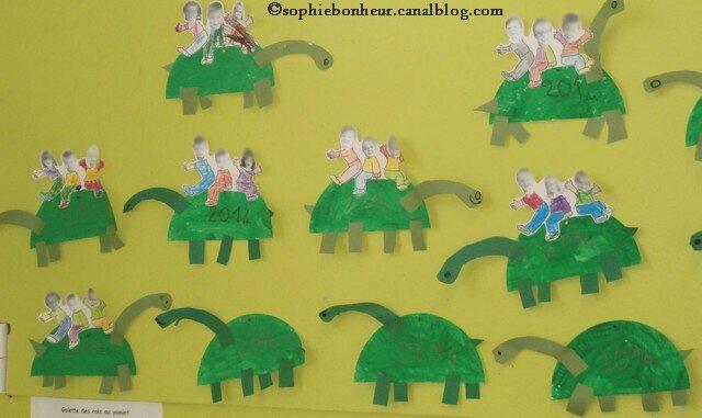 Des Dinosaures Ont Envahi La Classe Aux Petits Bonheurs De Sophie