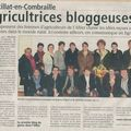 Les agricultrices bloggeuses...