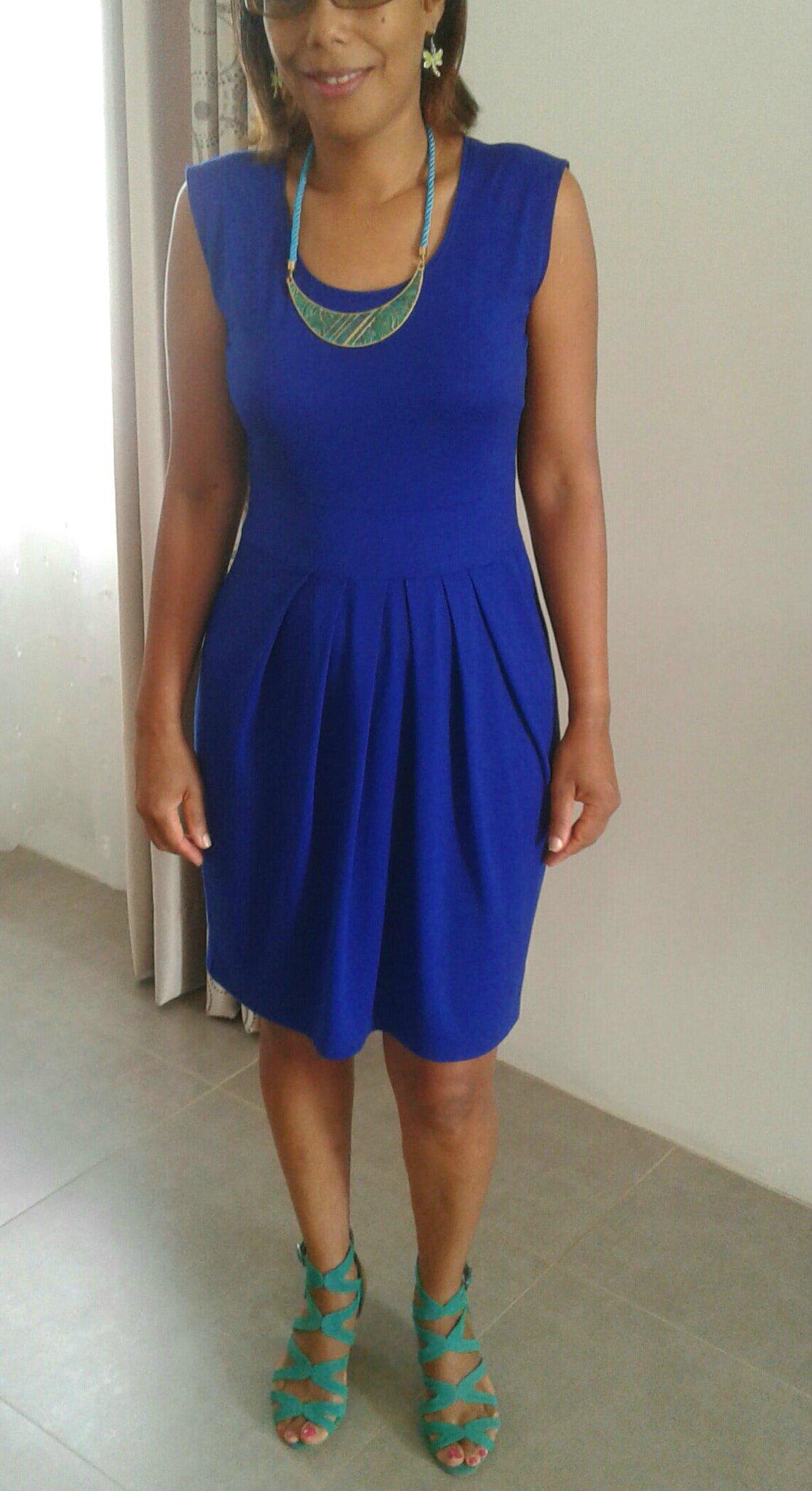 Robe Bleu Cobalt Mon Univers Colore