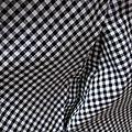 Robe HENRIETTE en vichy noir et blanc (4)