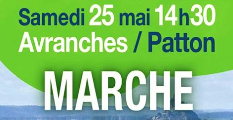 troisième Marche pour le Climat à Avranches le samedi 25 mai 2019