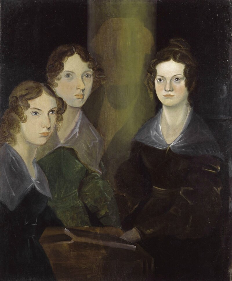 The_Brontë_Sisters_by_Patrick_Branwell_Brontë_restored