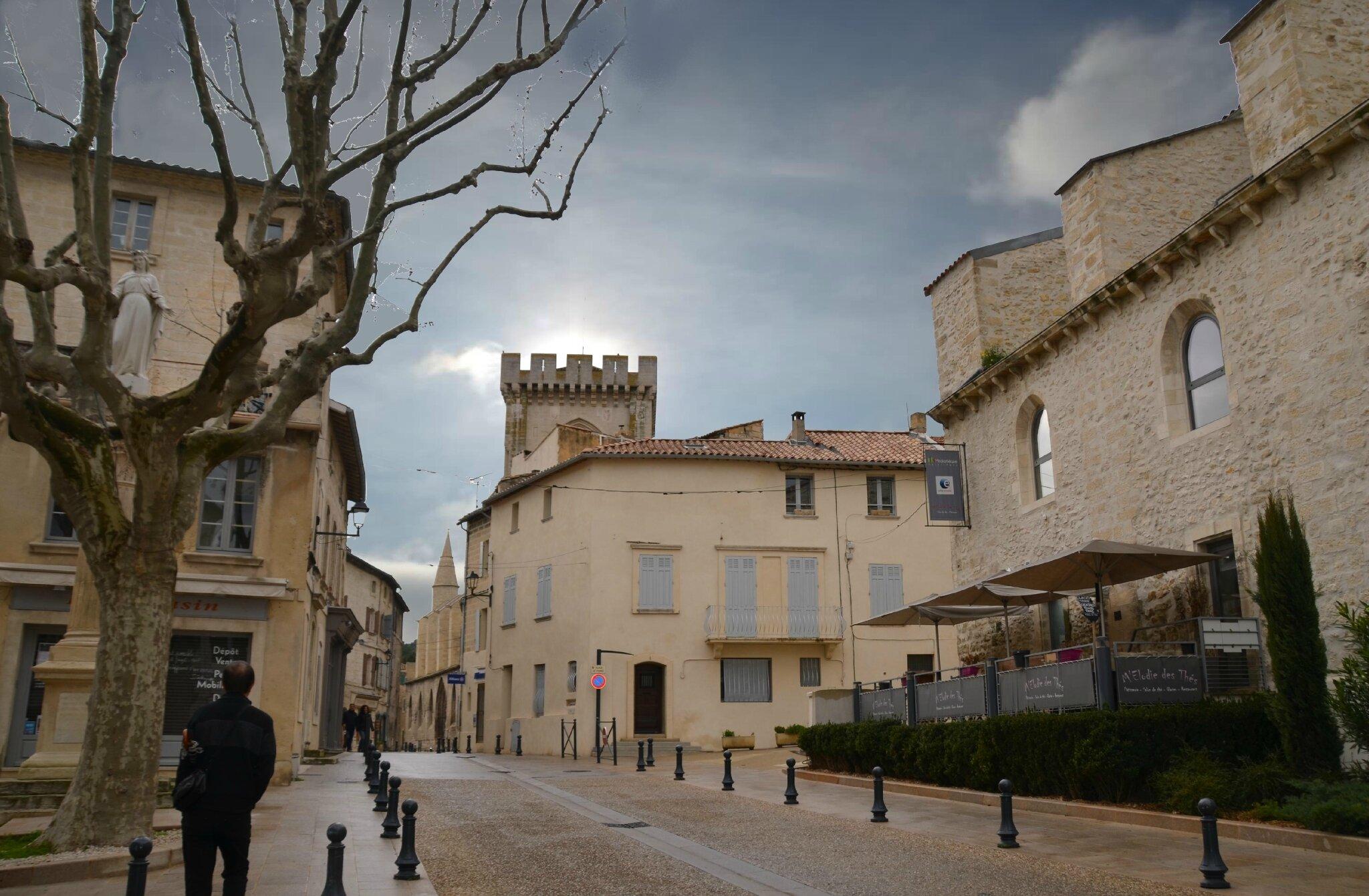 Villeneuve les Avignon : Cité Cardinalice.