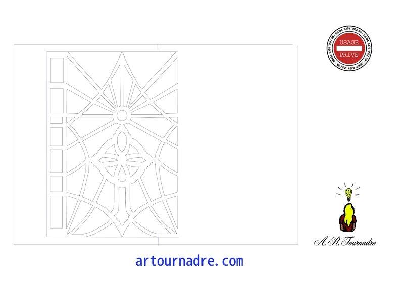 ART croix kirigami