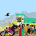 Sur les routes indiennes