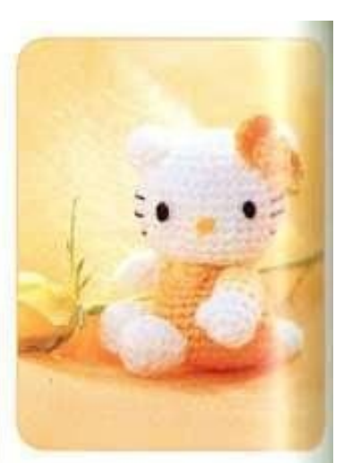 Free Crochet Hello Kitty Amigurumi - Caveat: pattern is translated ... | 516x384