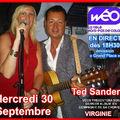 Ted sanders et virginie sur weo