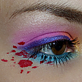 Maquillage ultra-coloré, inspiration hotline miami !