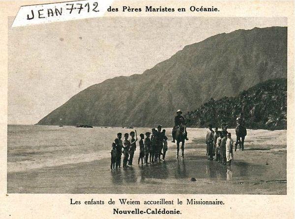 missionnaire et enfants