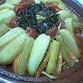 Tajine poulet aux légumes
