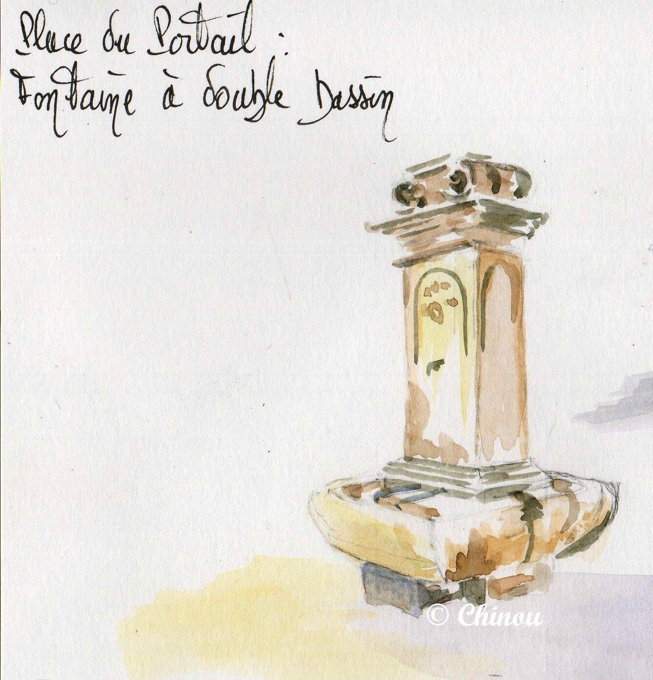2 Rians fontaine place du Portail