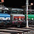 CC 72064, CC 6534 et 6559 Fret, dépôt de Lyon Mouche.