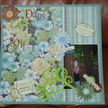 Ma participation au Scrapbooking Day 2 Mai 2009