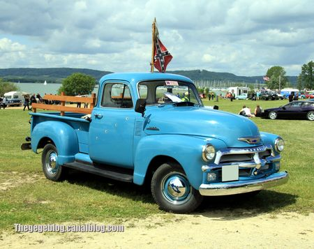 Chevrolet 3100 pick-up de 1954 (Retro Meus Auto Madine 2012) 01