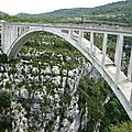 Gorges du Verdon, pont de l'Artuby (04)