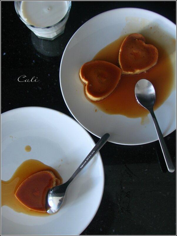 Crème Renversée à la Vanille & Caramel 001