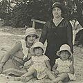 Bérangère et Marie avec les petites