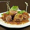 Piccatas de veau au foie gras