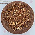Brownie au chocolat au lait et aux cacahuètes au thermomix