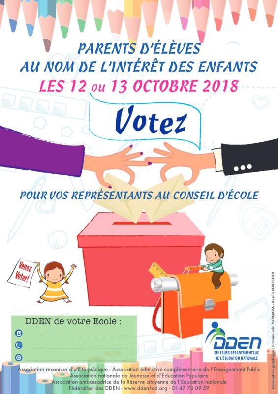 élections conseils écoles