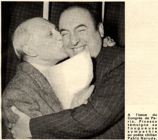 Picasso et pablo Neruda