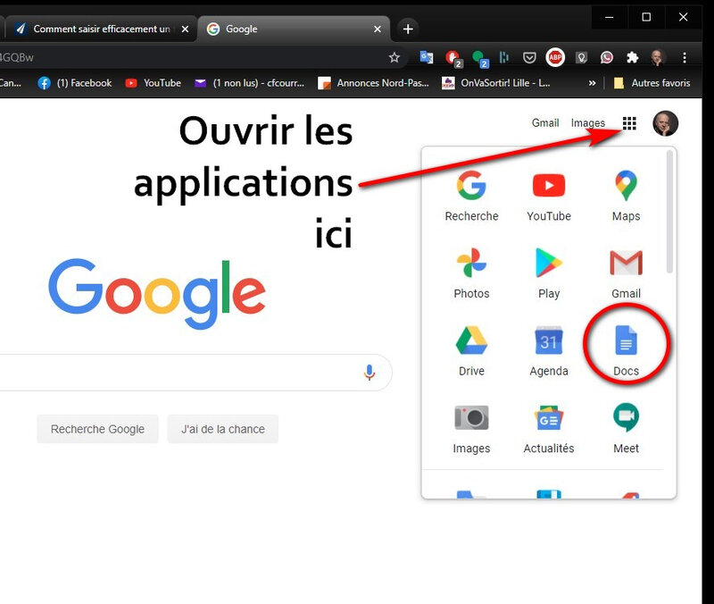 Applications Google