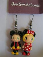 boucles minnie mickey