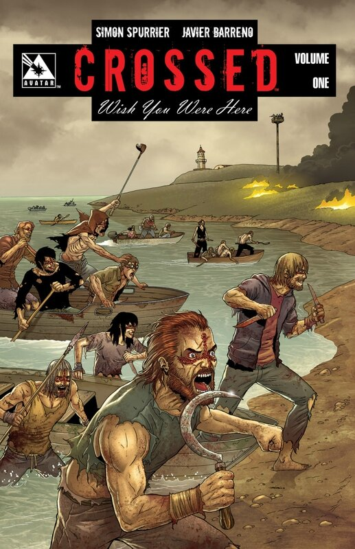 crossed wish you were here vol 1 TP