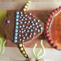 Gâteau 2 ans de Joshua (Géraldine)