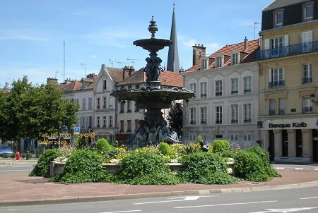 TROYES rond point Argence 2009