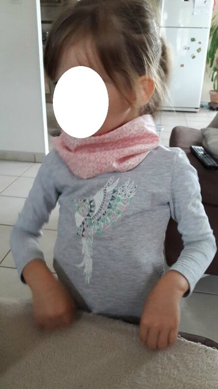 snood voile de coton - Copie