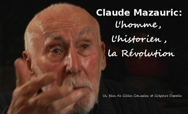 Sortie du DVD Claude Mazauric : l'homme, l'historien, la Révolution.