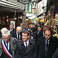 Le premier ministre manuel valls en visite au mont-saint-michel - lundi 25 avril 2016