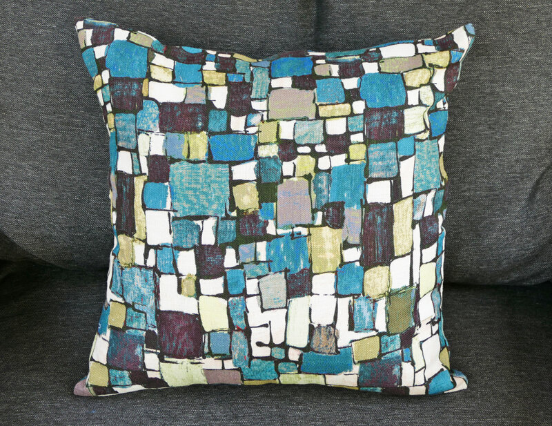 coussin lalie design rubiscube