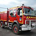 Renault midlum 240 dxi camion citerne rural des pompiers équipé par sides